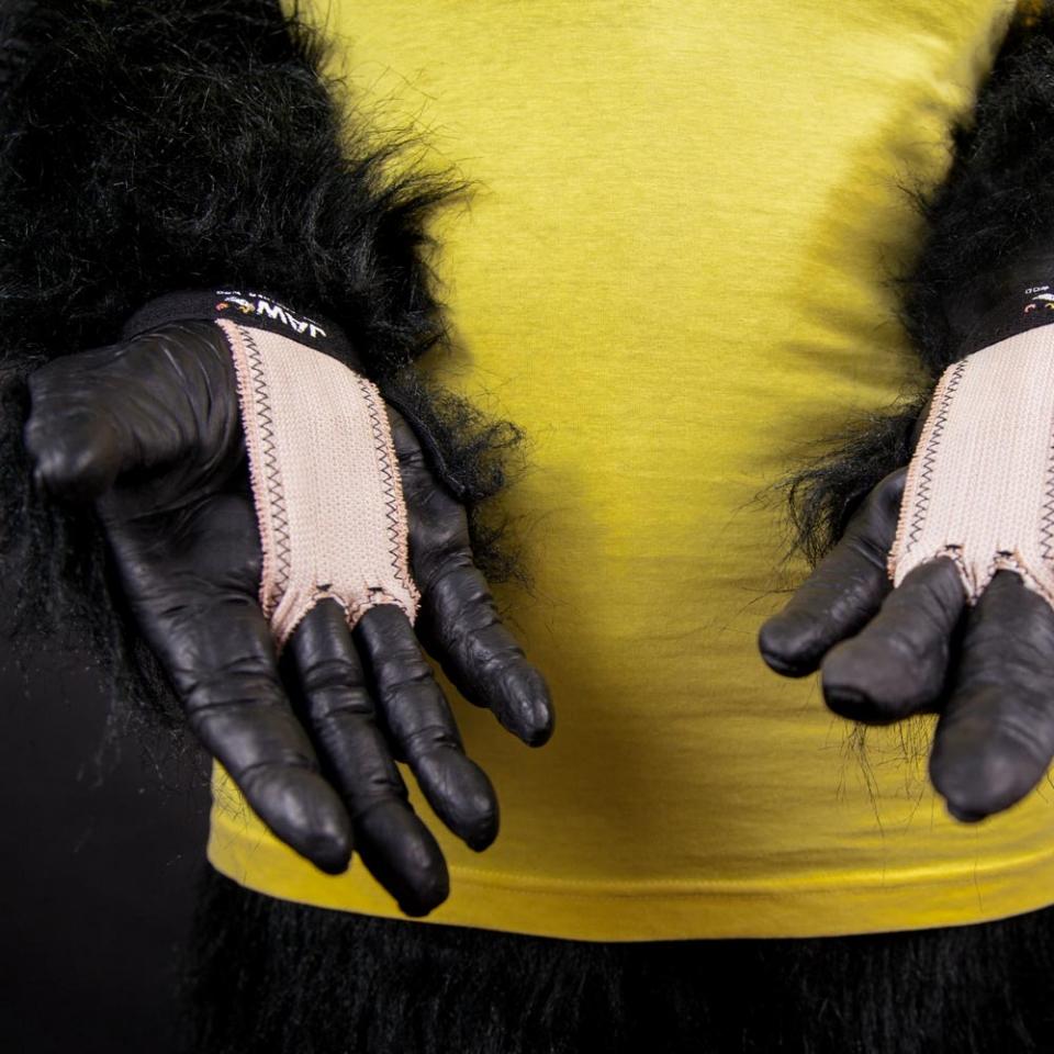 JAW Grips Handschutz bei Affenhand - Crossfit