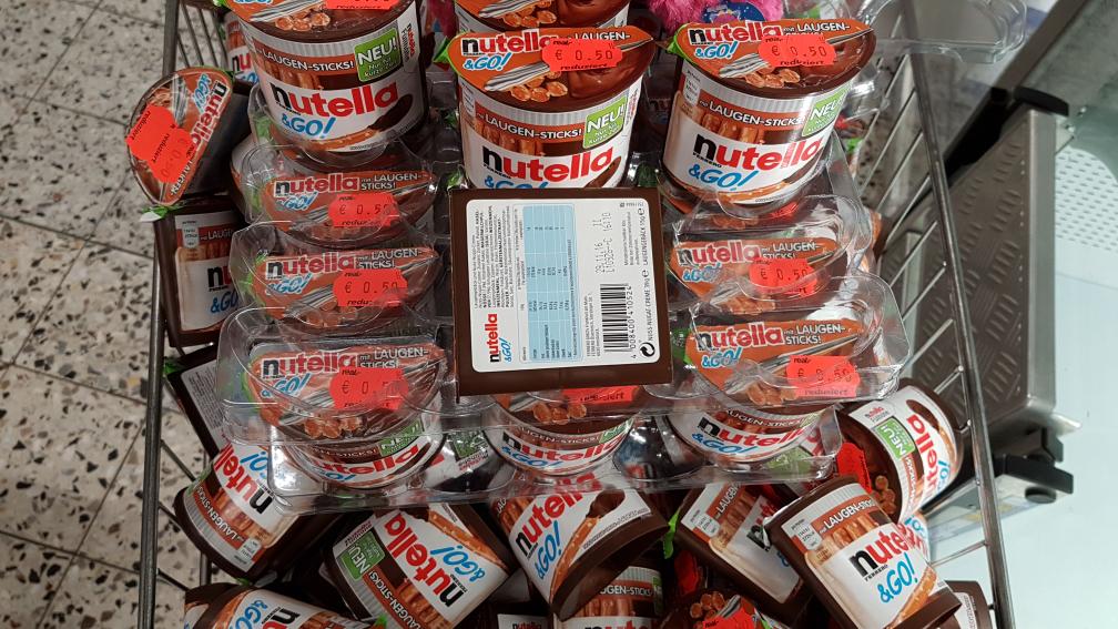 (Lokal Siegen) real,- Nutella & Go mit Laugen Sticks