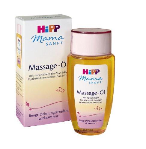 HiPP Mamasanft Massage-Öl, 2er Pack (2 x 100 ml) bei Amazon im Sparabo