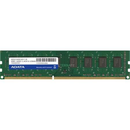 ADATA Arbeitsspeicher DIMM 4 GB DDR3-1600