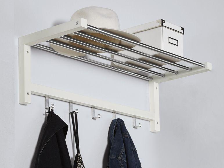Gaderobe / Hutablage zum halben Preis bei LIDL im Vergleich zu IKEA (+Zubehör)