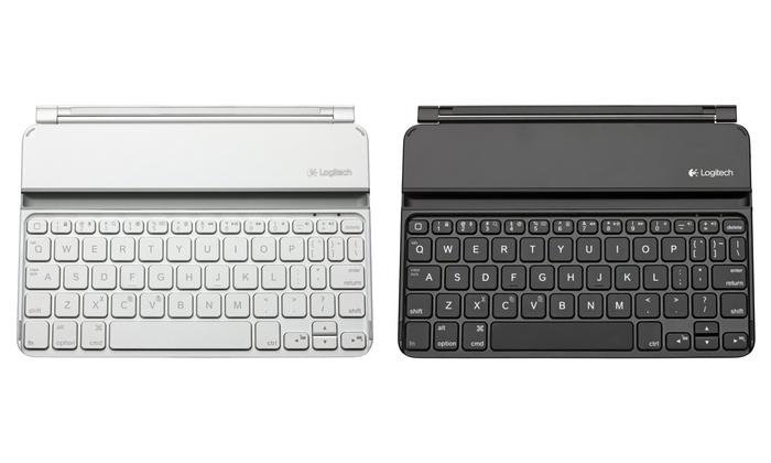 Logitech Keyboard-Cover für das iPad mini in Schwarz oder Weiß