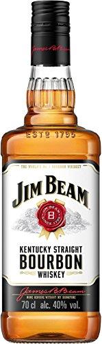 Jim Beam Weiß Kentucky Straight Bourbon Whiskey (1 x 0.7 l) für 9,99€ bei Amazon
