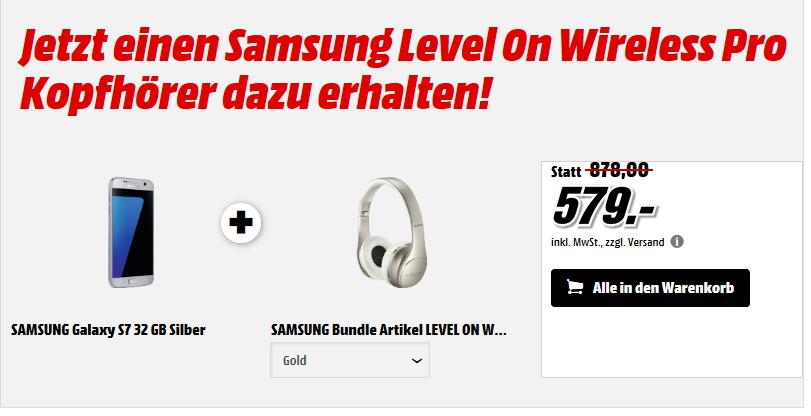 Samsung Galaxy S7 / S7 EDGE + Samsung Level On Wireless Pro (EO-PN920CBEGWW)