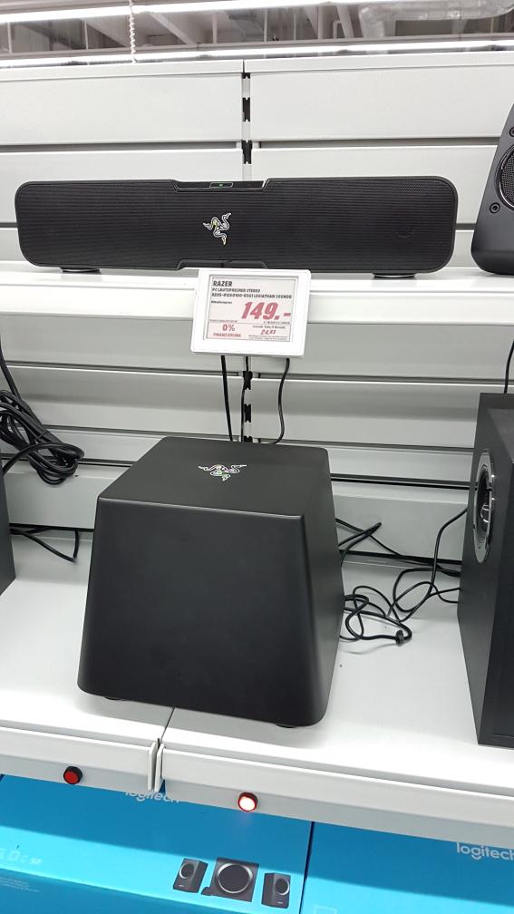 [Media Markt Potsdam] Razer RZ05 Leviathan Bluetooth Soundbar