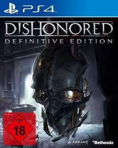[Mediamarkt GDD] Dishonored (Definitive Edition) [PlayStation 4] für 15,-€ Versandkostenfrei