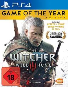 The Witcher 3: Game of the Year Edition (inkl. Hearts of Stone und Blood & Wine) (PS4) für 29,99€ [PSN+]