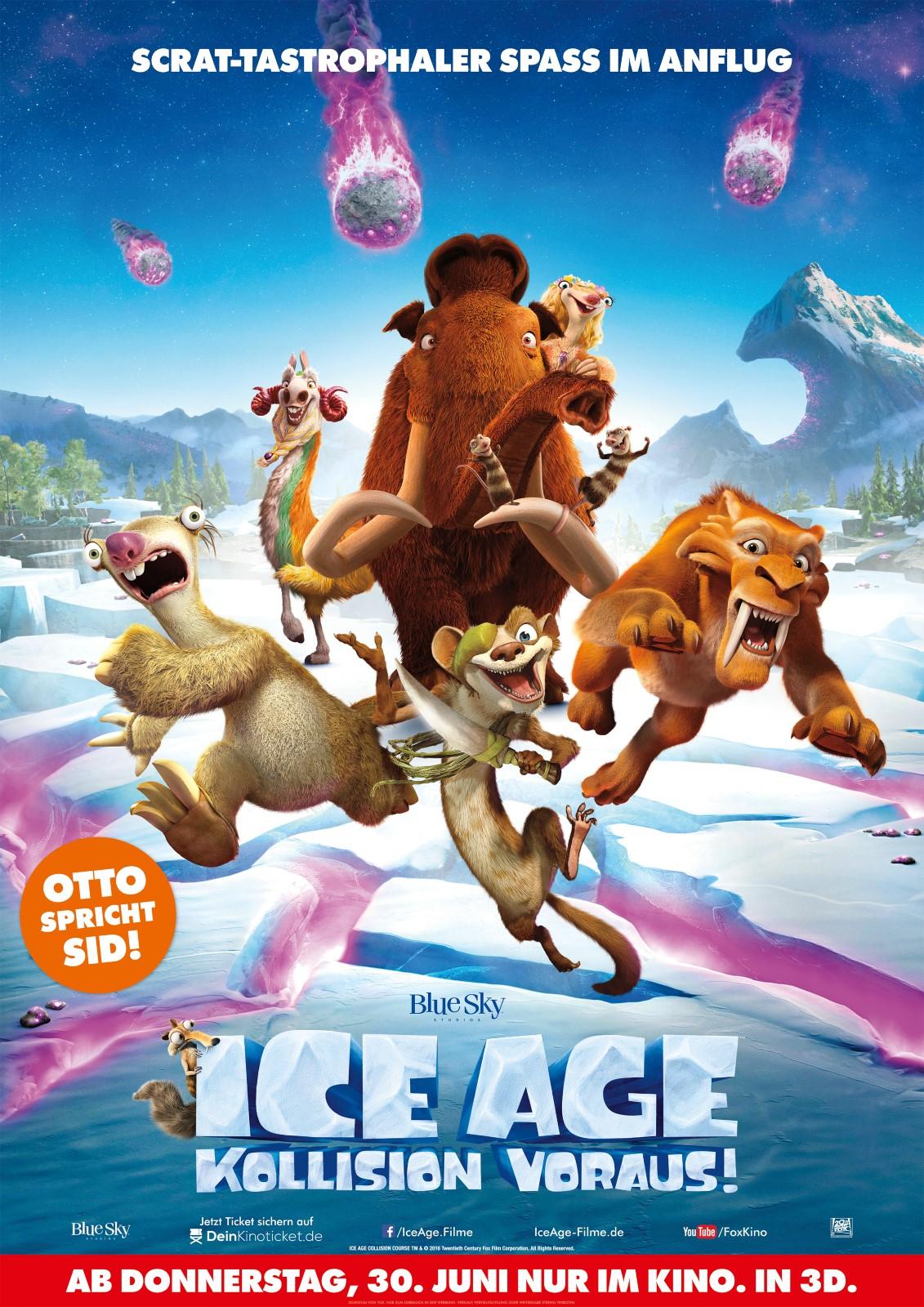 [MediaMarkt] Ice Age 5 - Kollision voraus! DVD 7€ (bundesweit?) ab 10.11. - Tipp für Nikolaus...