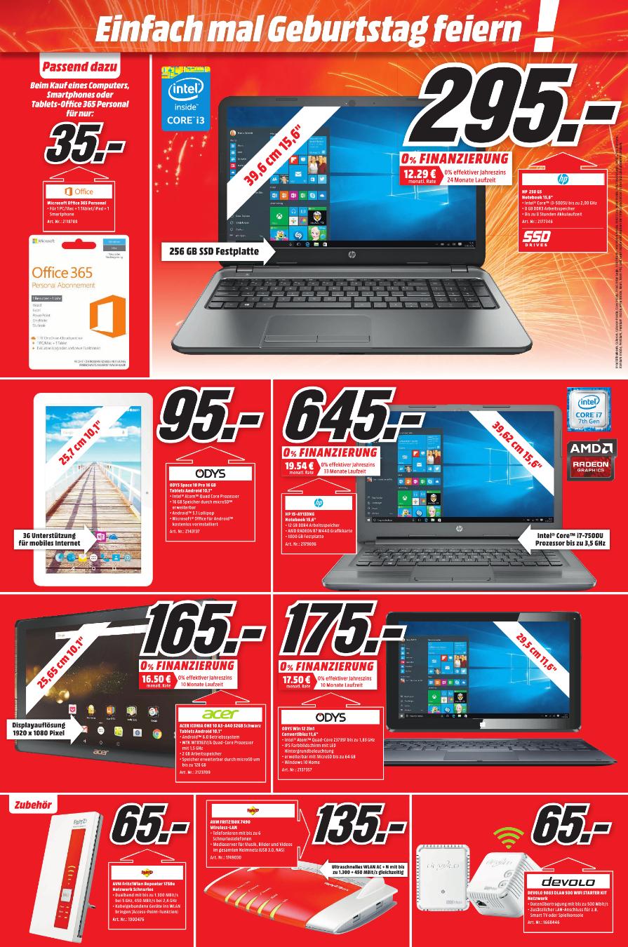 [Lokal Mediamarkt Köln-Chorweiler] HP 250 G5 mit 256GB SSD  für 295,-€ (PVG: €438)