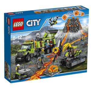 +Update+ [amazon.co.uk] LEGO City 60124 - Vulkan-Forscherstation für 55,75€ inkl. Versand