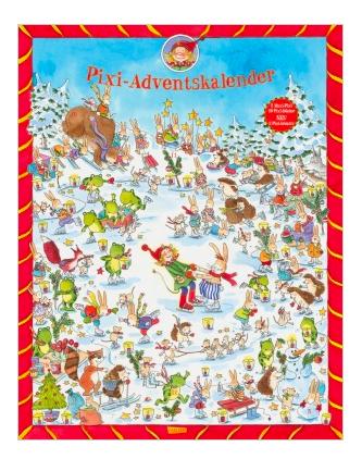 Gratis Pixi Adventskalender (Wert 20€) zu jeder Online-Bestellung mit Kinderartikel bei [Ernstings-Family]