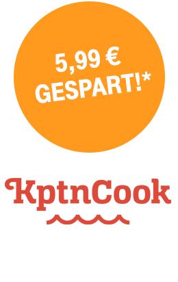 """App """"KptnCook"""" - Erweiterung um 100 Favoritenplätze i.W.v. 5,99€ für Telekom Kunden geschenkt"""