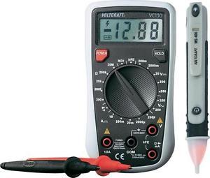 """Voltcraft Digital-Multimeter """"VC130"""" + Spannungsprüfer """"MS-400"""" für 18,99€ versandkostenfrei [Ebay]"""