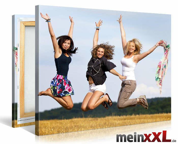 Fotoleinwände zum super preis bei meinxxl.de z.B 120x80cm für 24€. 100x75cm für 19€ und 60x40cm für 13€