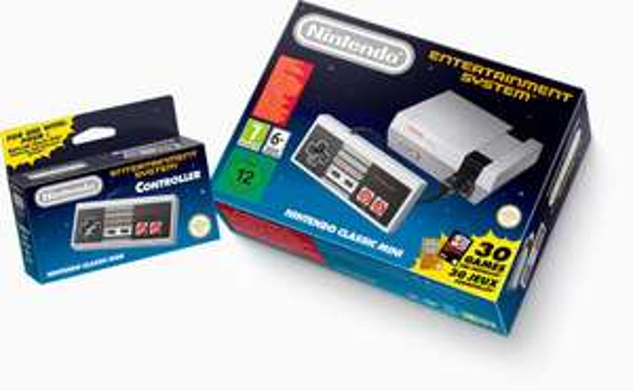 Nintendo NES Classic Mini + 2. Controller bei myToys verfügbar