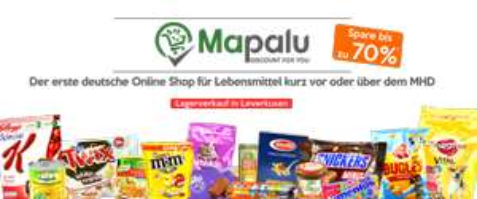 Toblerone für 0,77€ und weitere günstige Angebote [Mapalu.de] Lebensmittel kurz vor oder über MHD