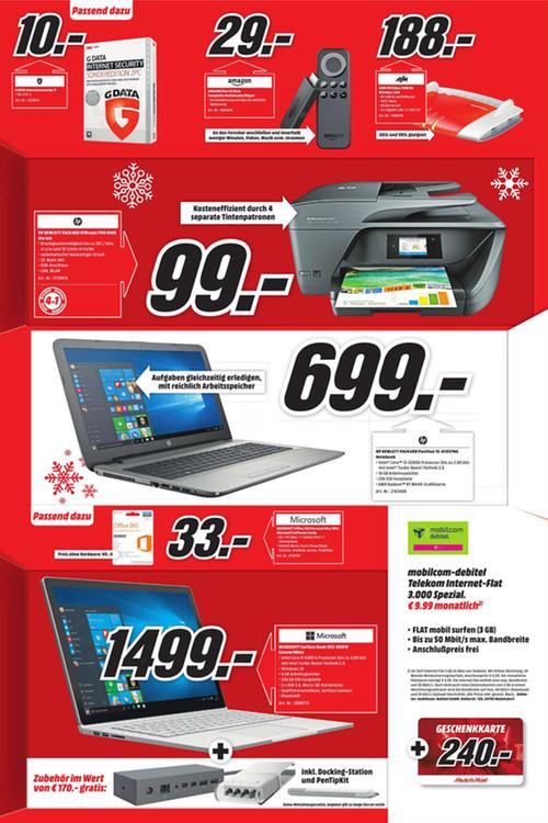 MM Reutlingen Microsoft Surface Book i5/256GB SSD + Dockingstation und PenTipKit für 1499€
