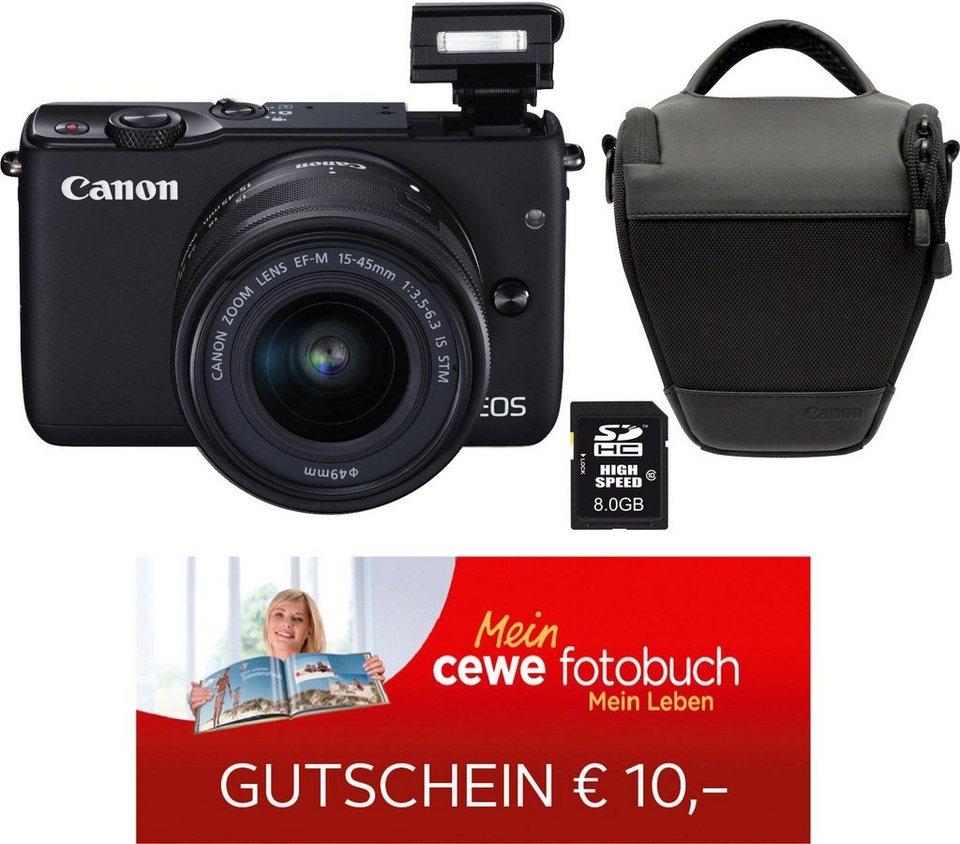 otto.de - Canon EOS M10 und Zubehör für 265€ mit aktueller Cashback-Aktion
