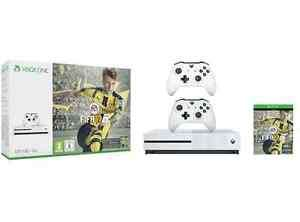 Xbox One S 500 GB + Fifa 17 + 2. Controller