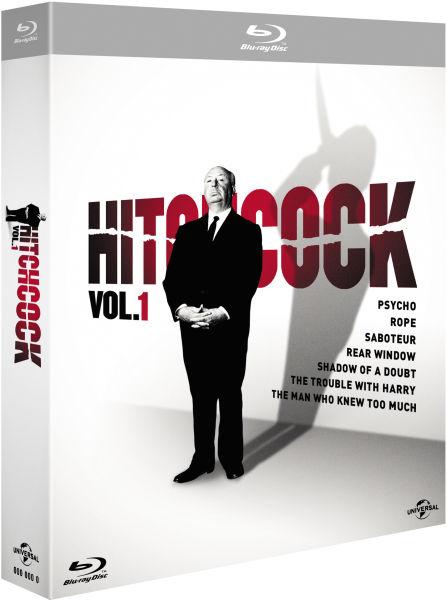 [zavvi] [Blu-ray] Hitchcock Vol. 1 & 2 je 12,65€ je 7 Filme