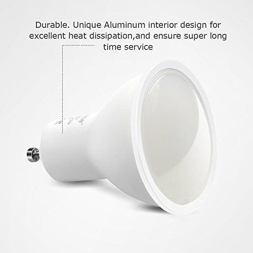 [Amazon] 6 dimmbare GU10 LED Birnen 3,5W (A++)