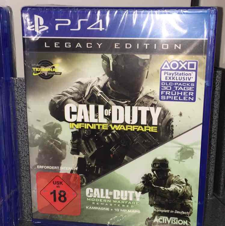 [Flösch in Müllheim] Call of Duty Infinite Warfare Legacy Edition PS4