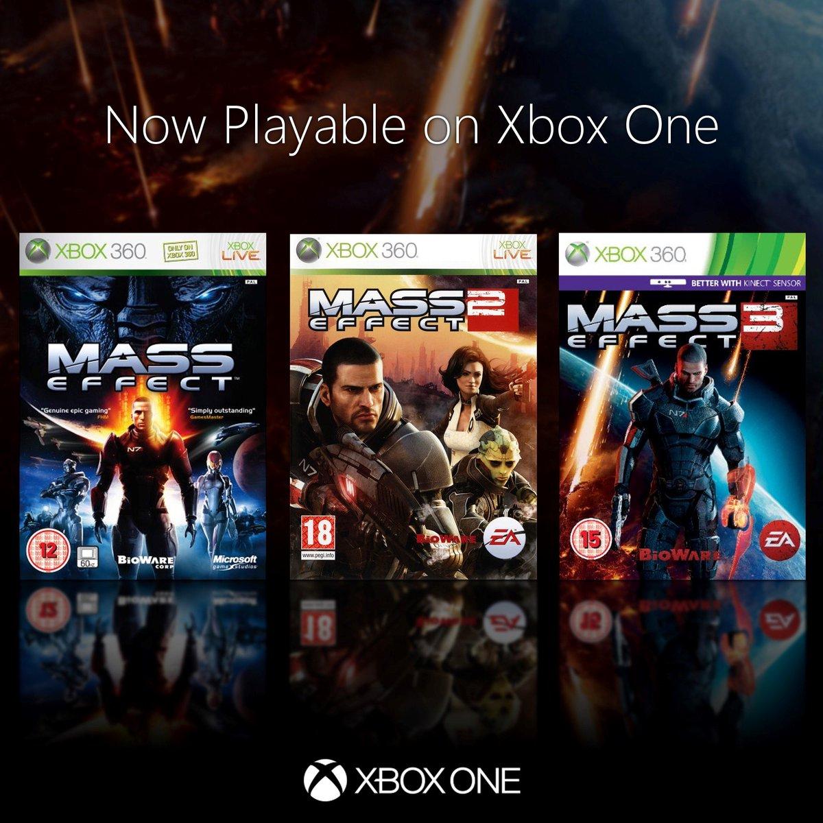[EA Access] Mass Effect Trilogie für Xbox One im Vault