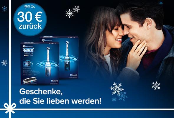 [Oral-B] Cashback-Aktion bis 30 Euro (modellabhängig)