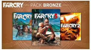 Far Cry: Bronze Pack (Far Cry 1 + 2 + 3 + Soundtrack) für 9,99€ oder Silver Pack (Far Cry 1 + 2 + 3 + 4 + Soundtrack) für 19,99€ [Ubisoft Store]