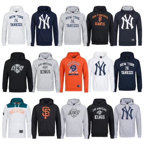 Ebay - Majestic Athletic Herren Kapuzen Sweatshirt NFL NHL MLB S-XXL