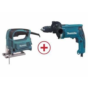 Ebay - Makita Stichsäge 4329 + Bohrmaschine HP1641 DK0074 Set