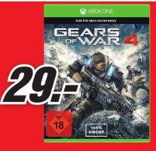 [Lokal Mediamarkt Porta Westfalica] Gears of War 4 (Xbox One) für 29,-€