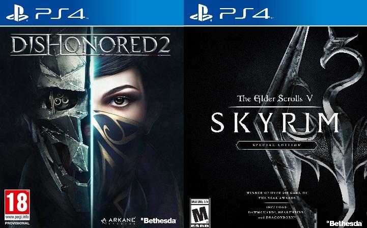 [Dishonored 2] & [The Elder Scrolls V: Skyrim] für die [PS4] für jeweils nur 29Euro im Media Markt [Bundesweit]