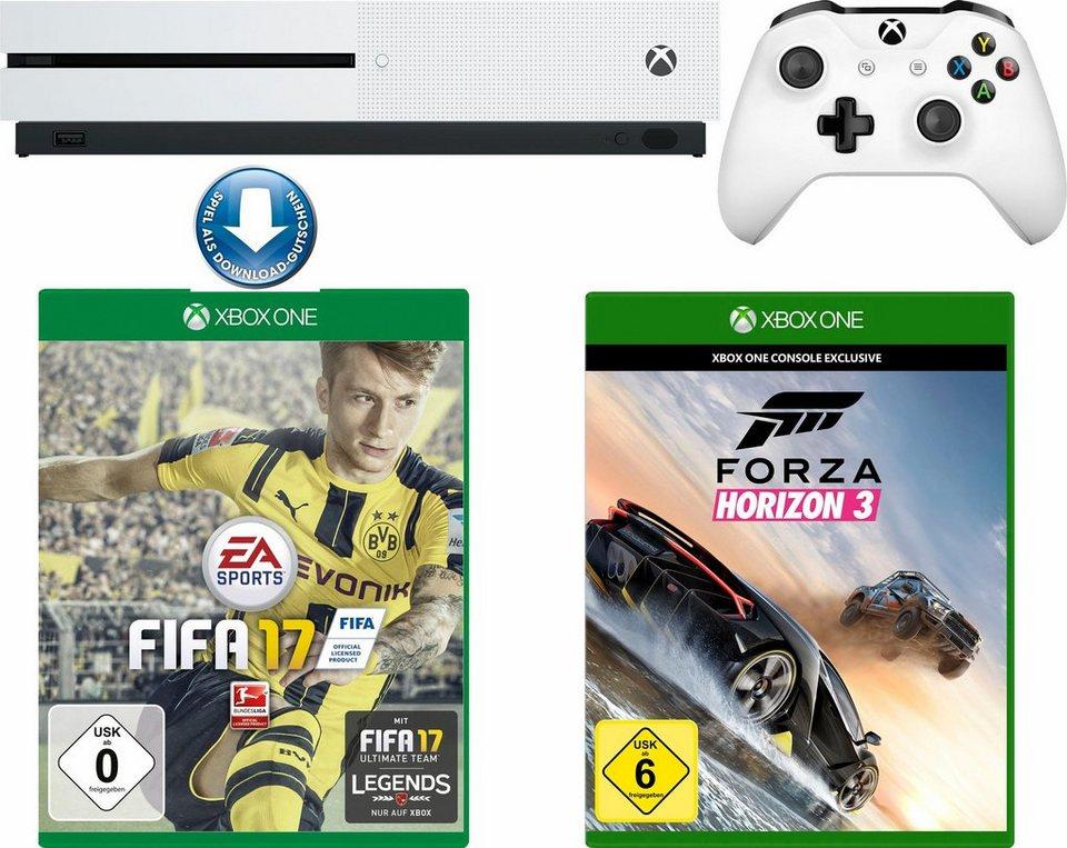 Neukunden Otto Xbox One S 500GB + Fifa 17 (DLC) + Forza Horizon 3, 4K Ultra HD