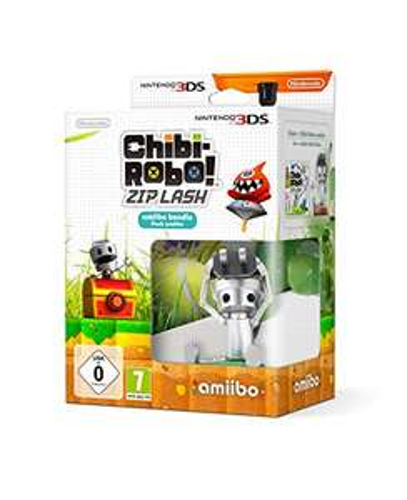 [Amazon] Chibi Robo: Zip Lash Special Edition inkl. amiibo [3DS]