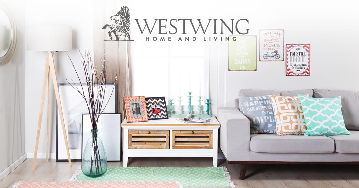 Nur heute: kostenloser Versand bei Westwing statt 6,90€
