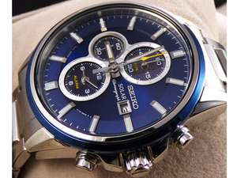 Seiko SSC253P1 Herren Solar-Armbanduhr für 175,90€ inkl. Versand? statt 239€ [iBood]