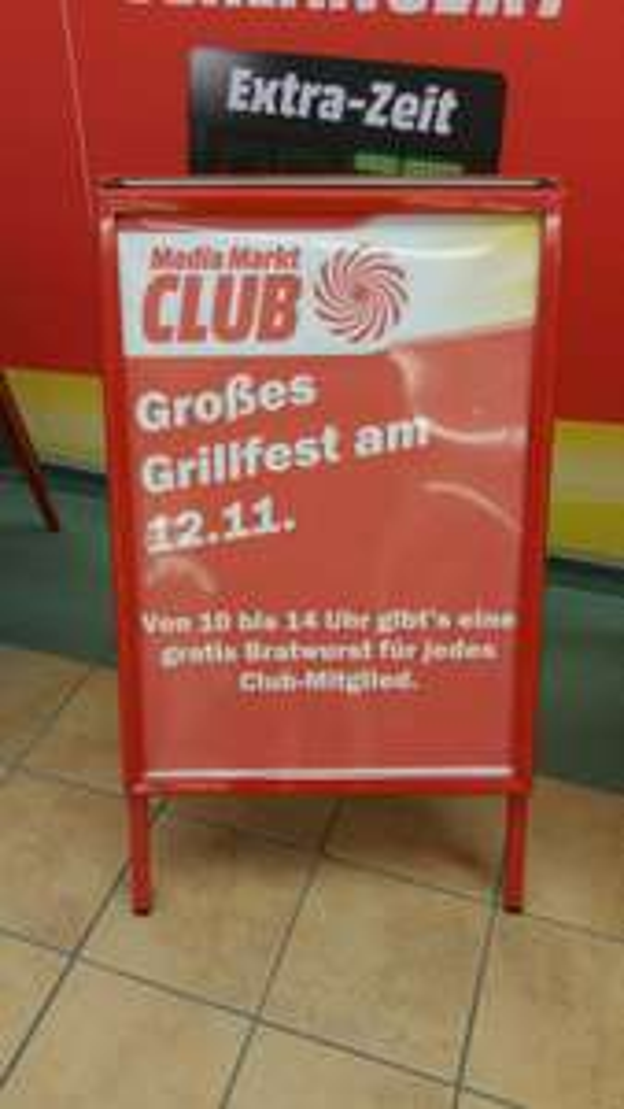 [ Local ] MediaMarkt Saarbrücken - Gratis Bratwurst für Clubmitglieder
