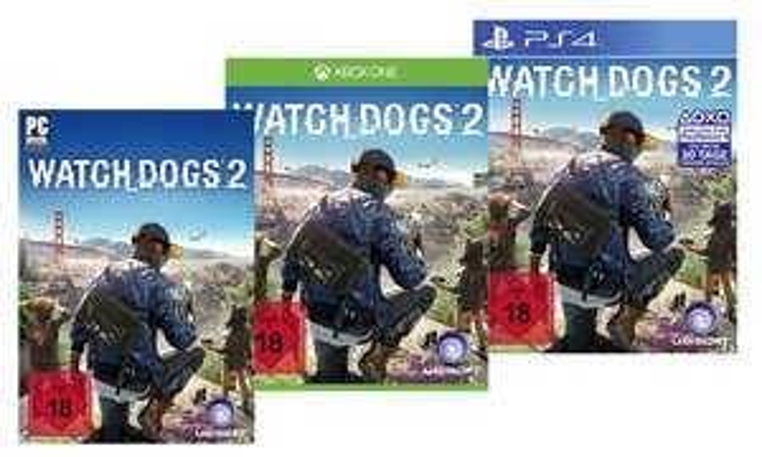 [Groupon] Watch Dogs 2 für 49,99€ bzw. 59,99€