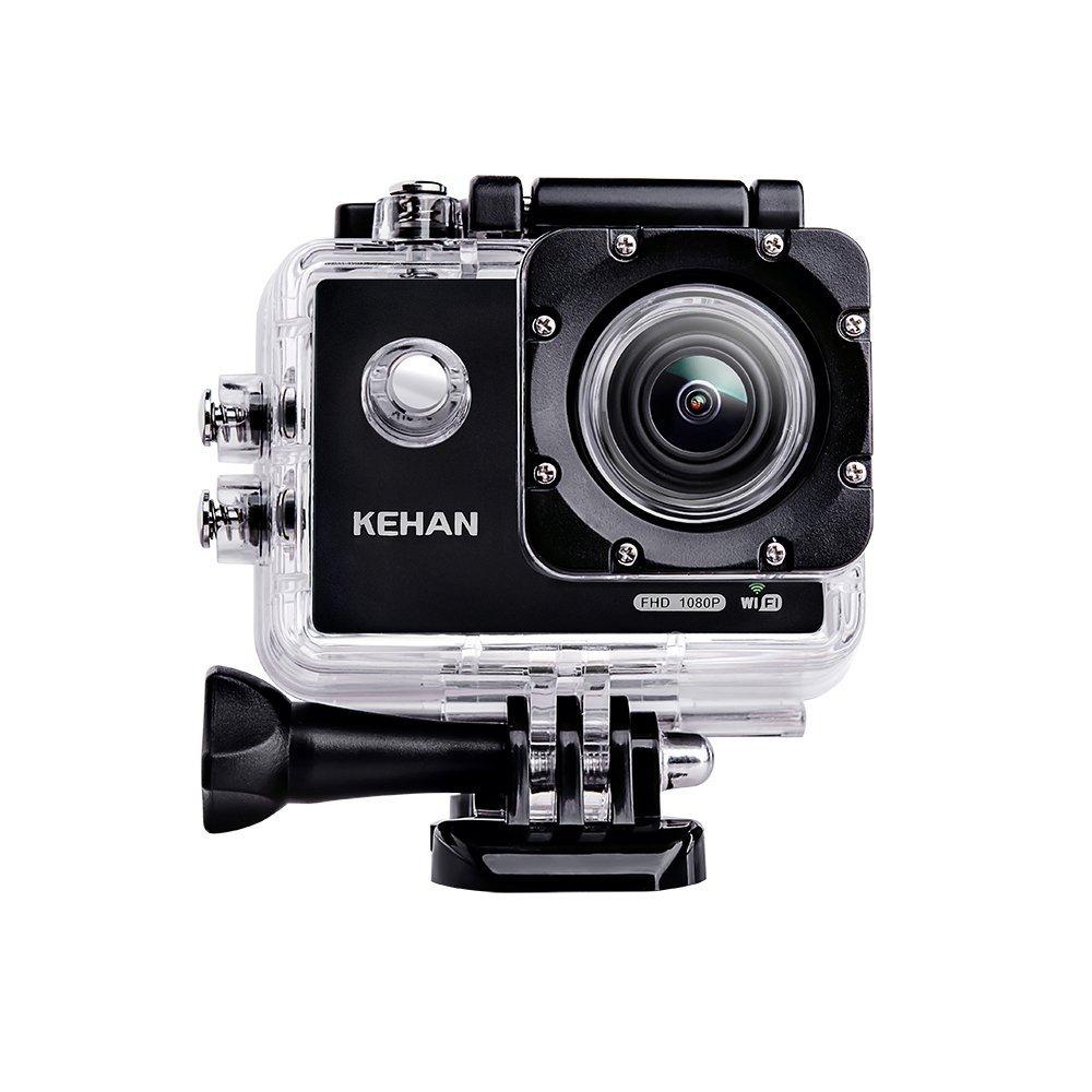 KEHAN C60 Pro 4K Mini Wi-Fi Actionkamera 16MP mit Fernbedienung, Zeitraffer und Zeitlupe @amazon