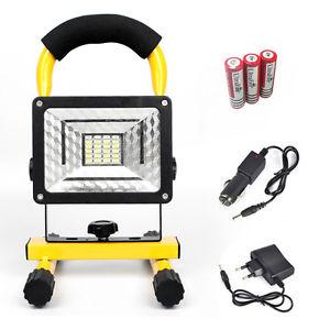 Akku LED Strahler 30W - Baustrahler - Arbeitsleuchte - ebay