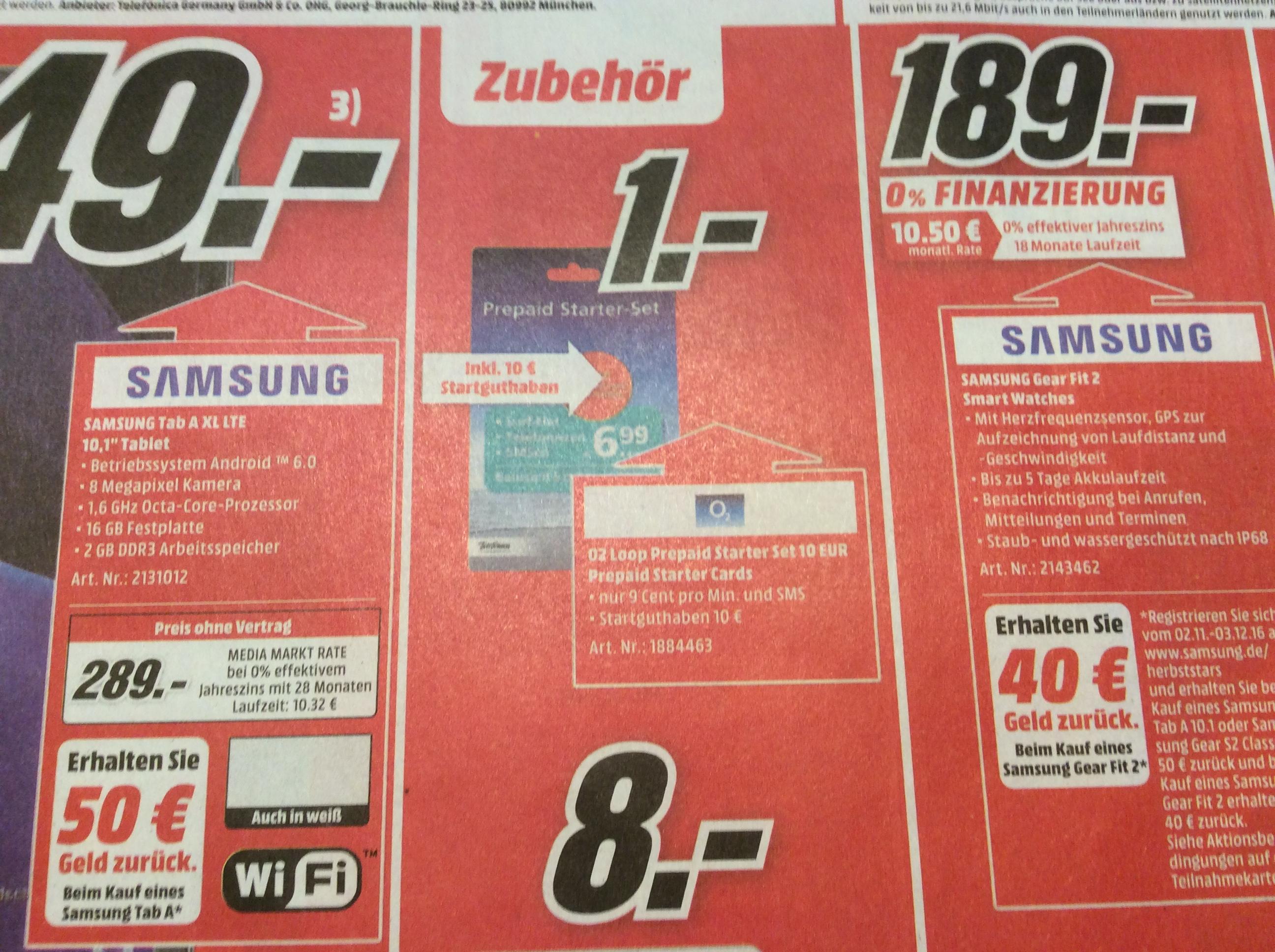 [lokal MM Kaiserslautern] O2 Prepaid Starter-Set inkl. 10€ Startguthaben für 1€