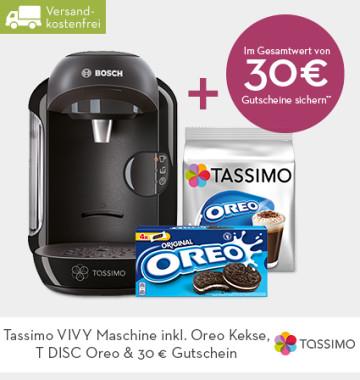 TASSIMO VIVY Maschine +  2 x 15 € Gutschein