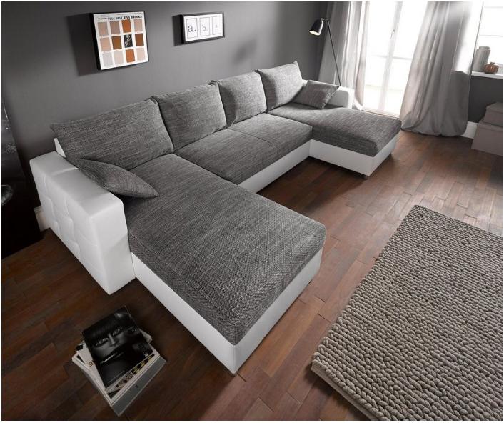 RAUM.ID Wohnlandschaft, inklusive Bettfunktion und Bettkasten 497,99 € inkl. Versand