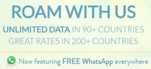 [KnowRoaming] Weltweit kostenlos Whatsapp nutzen.