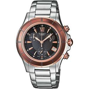 "Casio™ - Damen Chronograph ""Sheen"" (SHE-5516SG-5AEF) ab €77,30 [@Karstadt.de]"