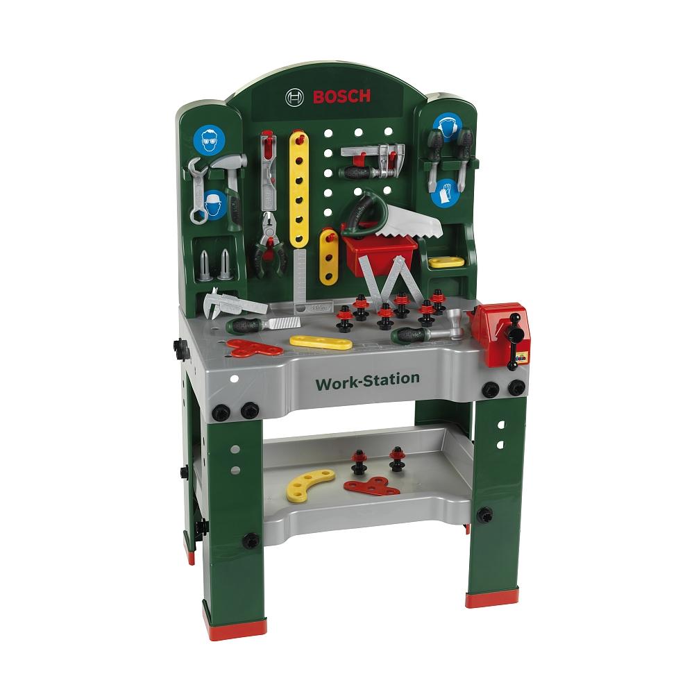 Bosch Super Werkbank + Werkzeugbox für 59,98€ bei [ToysRUs]