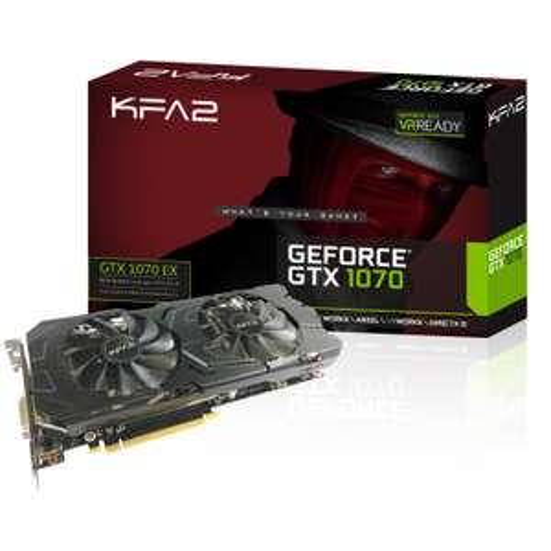 [NBB] KFA² GeForce GTX 1070 EX, 8GB + GEARS OF WAR 4 für 388€