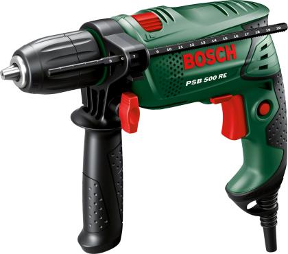 [Poco] Bosch Schlagbohrmaschine PSB500 (noch günstiger durch Tiefpreisgarantie Hornbach und Bauhaus)