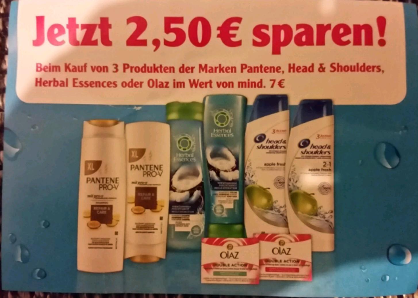 [Globus WI Nordenstadt] Head & Shoulders 300ml alle Sorten (7,06€/L)